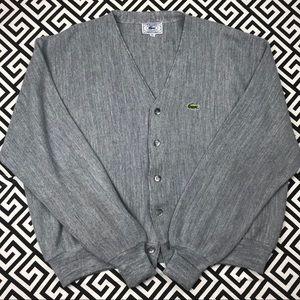 Vintage Izod •Lacoste• cardigan button sweater